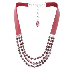 Necklace GRENAT
