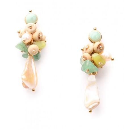 Boucles d oreilles DANUBE