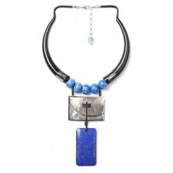 Collier DEEP BLUE