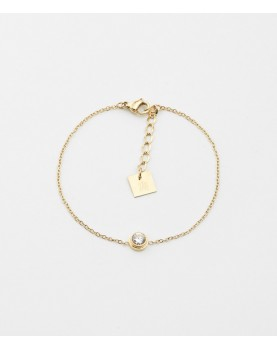 Bracelet Zag Apollo acier doré