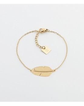 Bracelet Zag Amazonia acier...