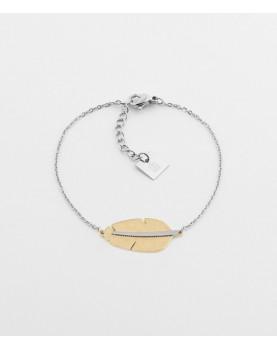 Bracelet Zag Amazonia acier
