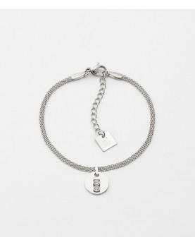 Bracelet Zag Artus acier