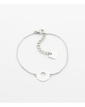 Bracelet Zag Divine acier