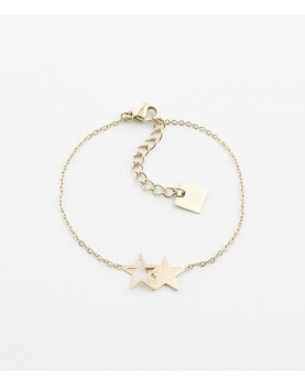 Bracelet Zag Double Star...