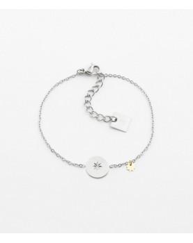 Bracelet Zag El Paso acier