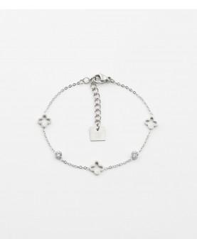 Bracelet Zag Florentina acier