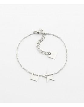 Bracelet Zag Lucky Square...