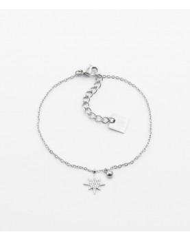 Bracelet Zag Magellan acier
