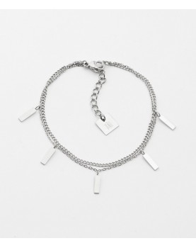 Bracelet Zag Miko acier