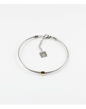 Bracelet Zag Ming acier
