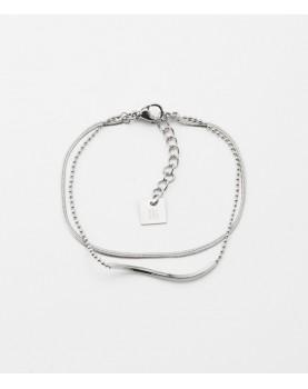 Bracelet Zag Neusis acier