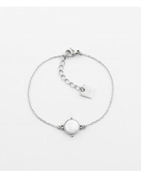 Bracelet Zag Salomé acier...