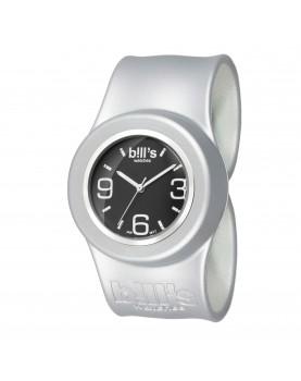 Bracelet Uni Classic Silver présenté avec le cadran Black Silver