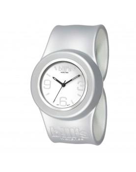 Bracelet Uni Classic Silver présenté avec le cadran White Silver