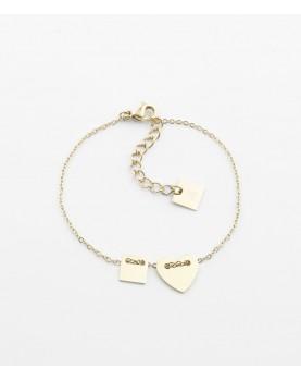 Bracelet Zag Lucky Heart...