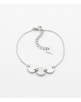Bracelet Zag Cardin acier