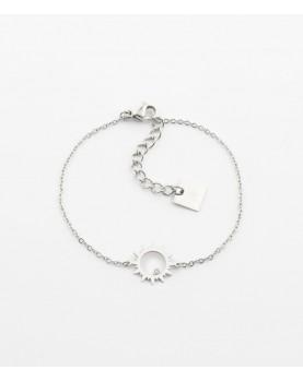Bracelet Zag Oursin acier