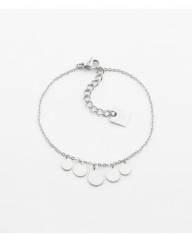 Bracelet Zag Pluton acier