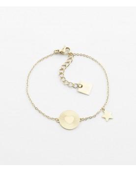 Bracelet Zag Lalalove acier...
