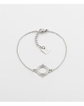 Bracelet Zag Sifnos acier