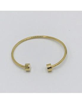 Bracelet jonc Zag acier...