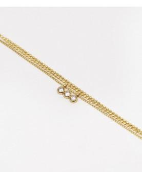 Bracelet Zag Mathilde acier...