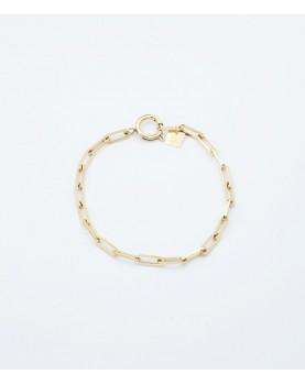 Bracelet Zag Ando acier doré