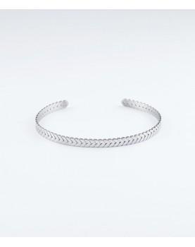 Bracelet Zag Buzios acier