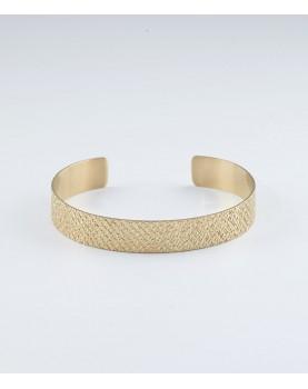 Bracelet Zag Athena acier doré