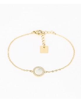 Bracelet Zag Linda acier...