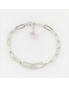 Bracelet Zag Bobby acier