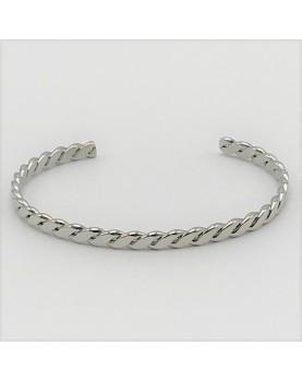 Bracelet Zag Swan acier