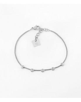 Bracelet Zag Belluc acier