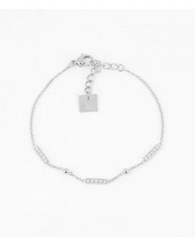 Bracelet Zag Allen acier