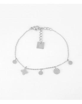 Bracelet Zag Madison acier
