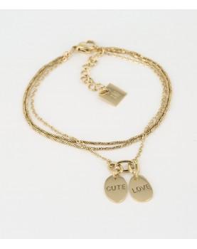 Bracelet Zag Cute Love...