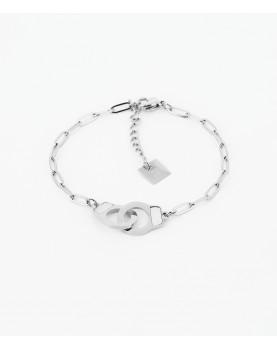 Bracelet Zag  Vanessa acier