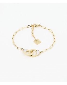 Bracelet Zag  Vanessa acier...