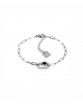 Bracelet ZAG Ophélie acier