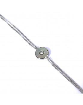 Bracelet Zag Aretha acier