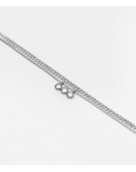 Bracelet Zag Mathilde acier