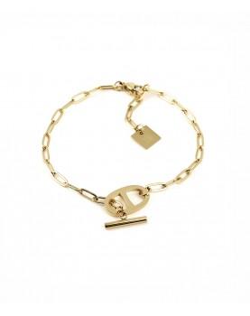 Bracelet Zag Daniela acier...