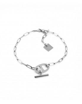 Bracelet Zag Daniela acier
