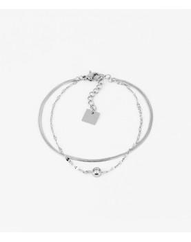 Bracelet Zag Sahiba acier