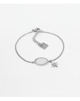 Bracelet Zag Laguna acier