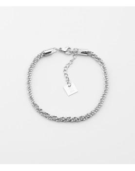 Bracelet Zag Rice acier