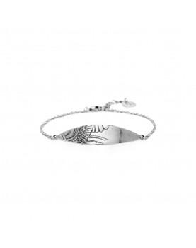 Bracelet Ori Tao Mandala gravé