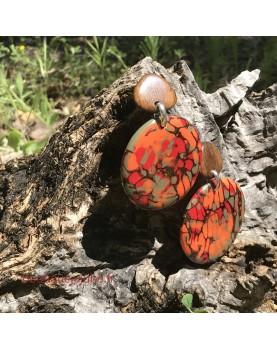 Boucles d'oreilles Nature...